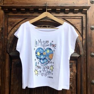 T-shirt la misura dell'amore