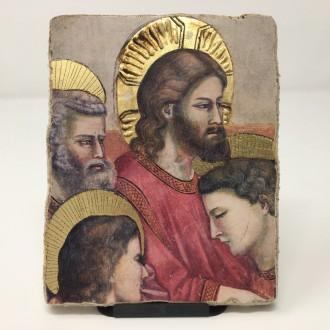 Affresco Ultima Cena Giotto particolare