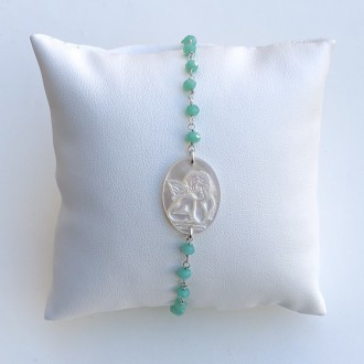 Bracelet I take you by the hand rosary