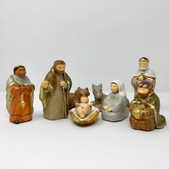 Presepe in ceramica Brunella