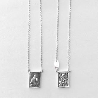 Collana Scapolare argento lungo