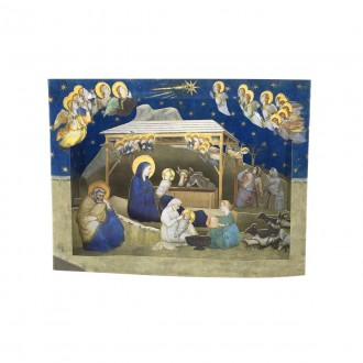 Presepe Giotto pop up