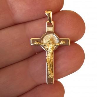 Croce San Benedetto oro