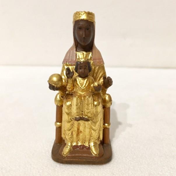 Vergine di Monserrat 7 cm