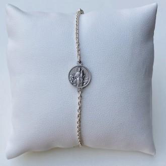 Bracciale Scapolare in argento