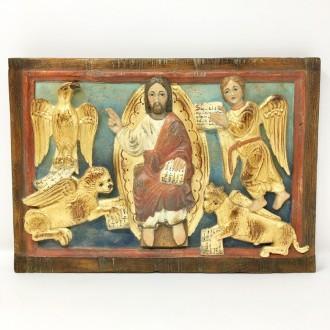 Pannello Cristo romanico