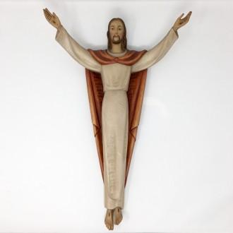 Cristo Risorto in legno grande