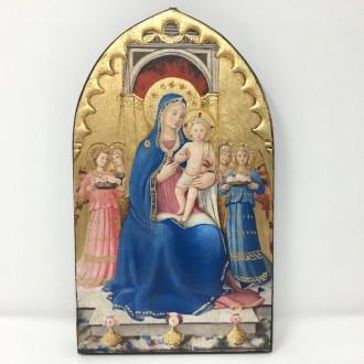Tavola dipinta Madonna con Bambino