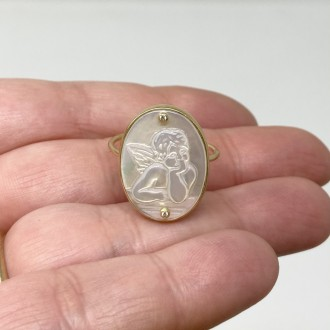 Anello Ti Tengo per mano oro 18 carati e brillanti
