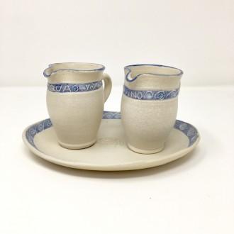 Servizio Ampolline in ceramica