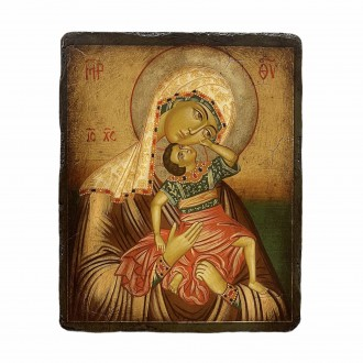 Our Lady Mother of God the game of the child