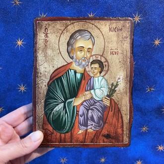 Painted icon St. Joseph