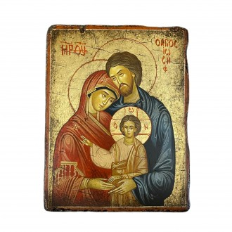 Holy Family Icon small size