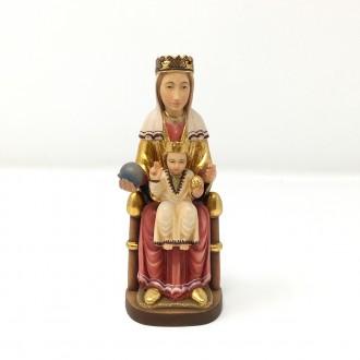 Statua Madonna in trono romanica