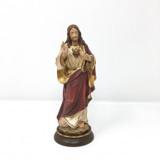 Statua Sacro Cuore di Gesù cm 20