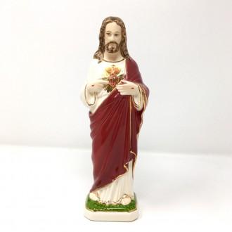 Statua Sacro Cuore di Gesù cm 30