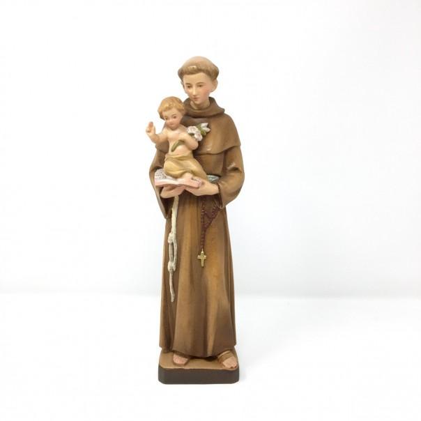 Statua San Antonio in legno cm 30