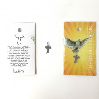 Ciondolo simboli cristiani - Tau -