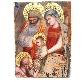 Affresco Sacra Famiglia Giotto