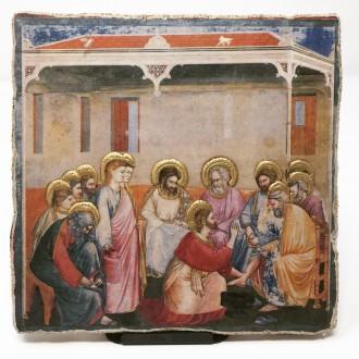 Affresco Lavanda dei piedi Giotto