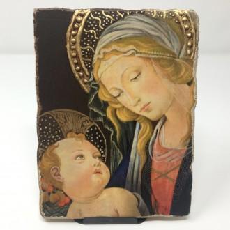 Affresco Madonna con bambino Botticelli